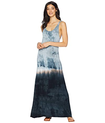 Hard Tail Midi Tank Dress (Crystal Dip-Dye 1) Women