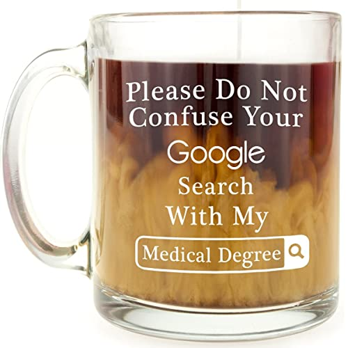 Doctor, Surgeon or Medical Student Gift - Funny Glass Coffee Mug - Google Search Medical