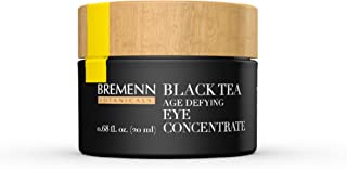 Black Tea Age Defying Eye Concentrate - Cosmetic Compound for Visibly Reduced Wrinkles and Crow's Feet, Firmer Skin, and Reduced Dark Under-Eye Circles, (0.68 oz.)