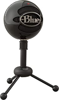 Blue Micrófono USB Snowball, micrófono clásico de calidad de estudio para grabación, podcasting, radiodifusión, retransmis...