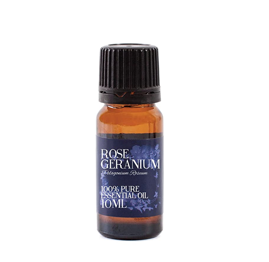 コロニー軽蔑かき混ぜるMystic Moments | Rose Geranium Essential Oil - 10ml - 100% Pure