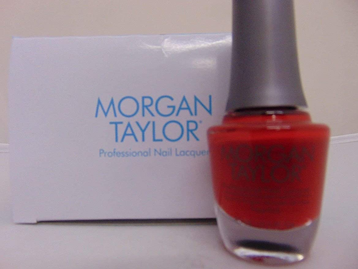 背景縫い目罪人Morgan Taylor - Professional Nail Lacquer - Scandalous - 15 mL / 0.5oz