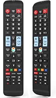 Universal Remote Control for All Samsung TV Remote LCD LED QLED SUHD UHD HDTV Curved Plasma 4K 3D Smart TVs with Netflix a...