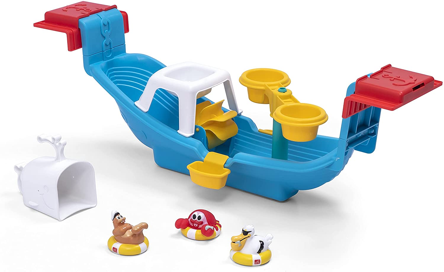 Step2 Nautical Rain Showers Bath with Super beauty product mart restock quality top Boat Set Toys