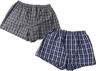 尿漏れ対策パンツ 失禁対策パンツ 介護パンツ トランクス 男性用 脱着式 パットが外せる シミない 漏れない 蒸れない 臭わない 清潔 ブラック ブルー Lサイズ ウエスト84〜94cm