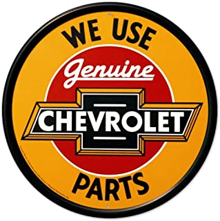 Ande Rooney Chevrolet Parts Metal Sign