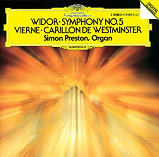 Widor: Symphony No.5 In F Minor, Op.42 No.1 For Organ - 5. Toccata (Allegro)