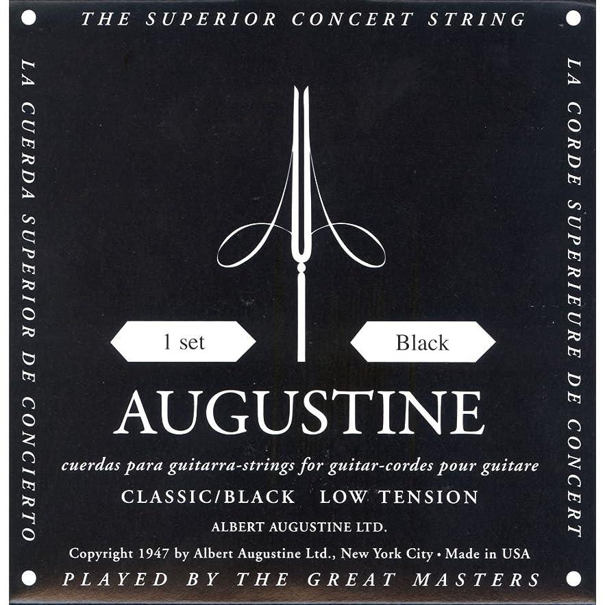 気になる不調和このAUGUSTINE オーガスチン クラシックギター弦 ブラックセット BLACK SET