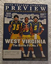 Owen Schmitt, Steve Slaton & Pat White - West Virginia Mountaineers - The Battle for No. 1 - Regional Cover - Sports Illustrated - August 21, 2006 - College Football Preview - SI
