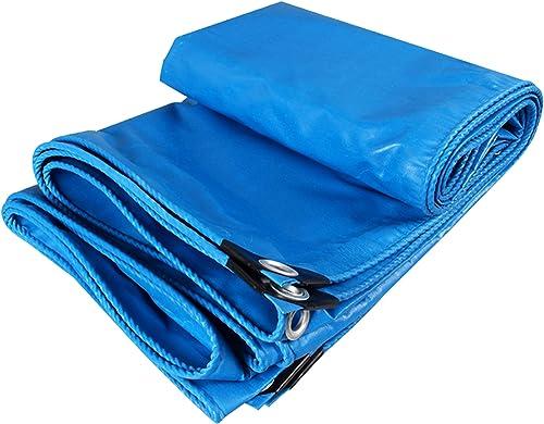 DONGYUER Bache extérieure Camion imperméable en PVC bache imperméable à l'eau Prougeection Solaire bache Ombre Pluie Tissu auvent Toile Tente bache Poncho en Tissu en Plastique,2  3m