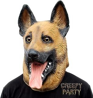 CreepyParty Festa in Costume di Halloween Maschera in Lattice a Testa Celebrit/à Presidente degli Stati Uniti Washington