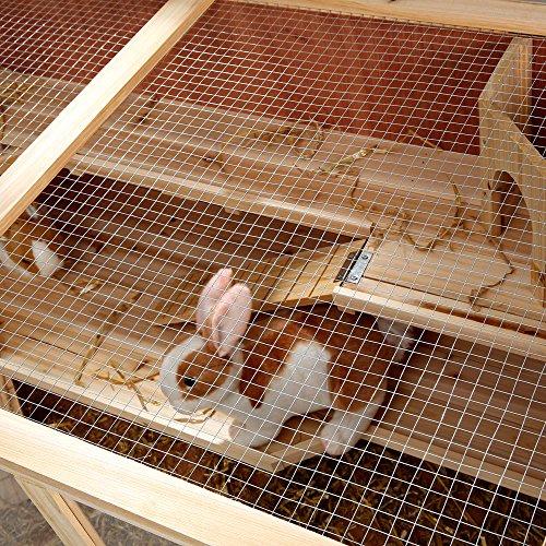 Nagerkäfig Villa Hamsterkäfig Mäusekäfig Kleintierkäfig Käfig Rattenkäfig Holz - 8