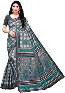 Anni Designer Women's Pure Cotton Saree Without Blouse (Pure Cotton 100% 1046_Free Size)