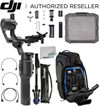 DJI 2019 Ronin-SC Compact Stabilizer 3-Axis Gimbal Handheld Stabilizer (Loki) for Mirrorless Camera Essential Must-Have Bundle - CP.RN.00000040.01
