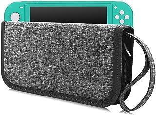 WALNEW Nintendo Switch lite専用ケース ニンテンドースイッチライトバッグ 任天堂 軽量スリム 八個ゲームカード ケーブル イヤホン収納 全面保護 耐衝撃 防塵カバー