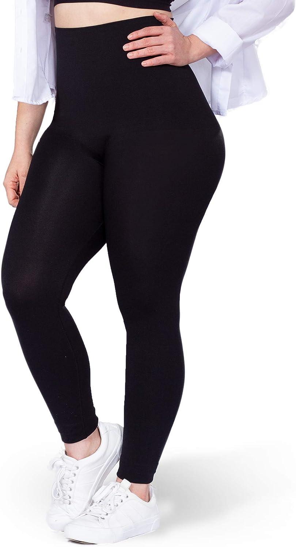 Shapermint High Waisted Medium Compression Leggings - Shapewear for Women