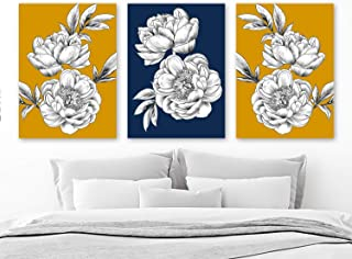 Best navy and mustard decor Reviews