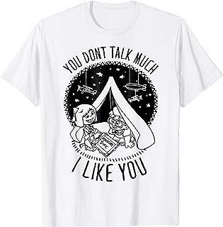 Pixar Up Tee I Like You Carl Ellie Graphic T-Shirt