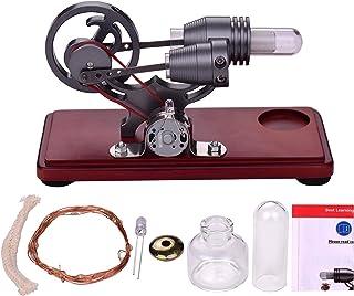 Aibesy Moteur Stirling Generateur Rétro Style Air Chaud Stirling Moteur Modèle Dollar Volant Conception Jouet Éducatif Gén...