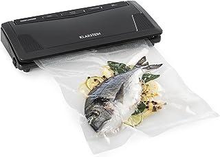 comprar comparacion Klarstein FoodLocker Slim Envasadora al vacío - 130 W, Sellado a -0,75bar, Función Pulse-vac y Seal, Incluye bolsas de vac...