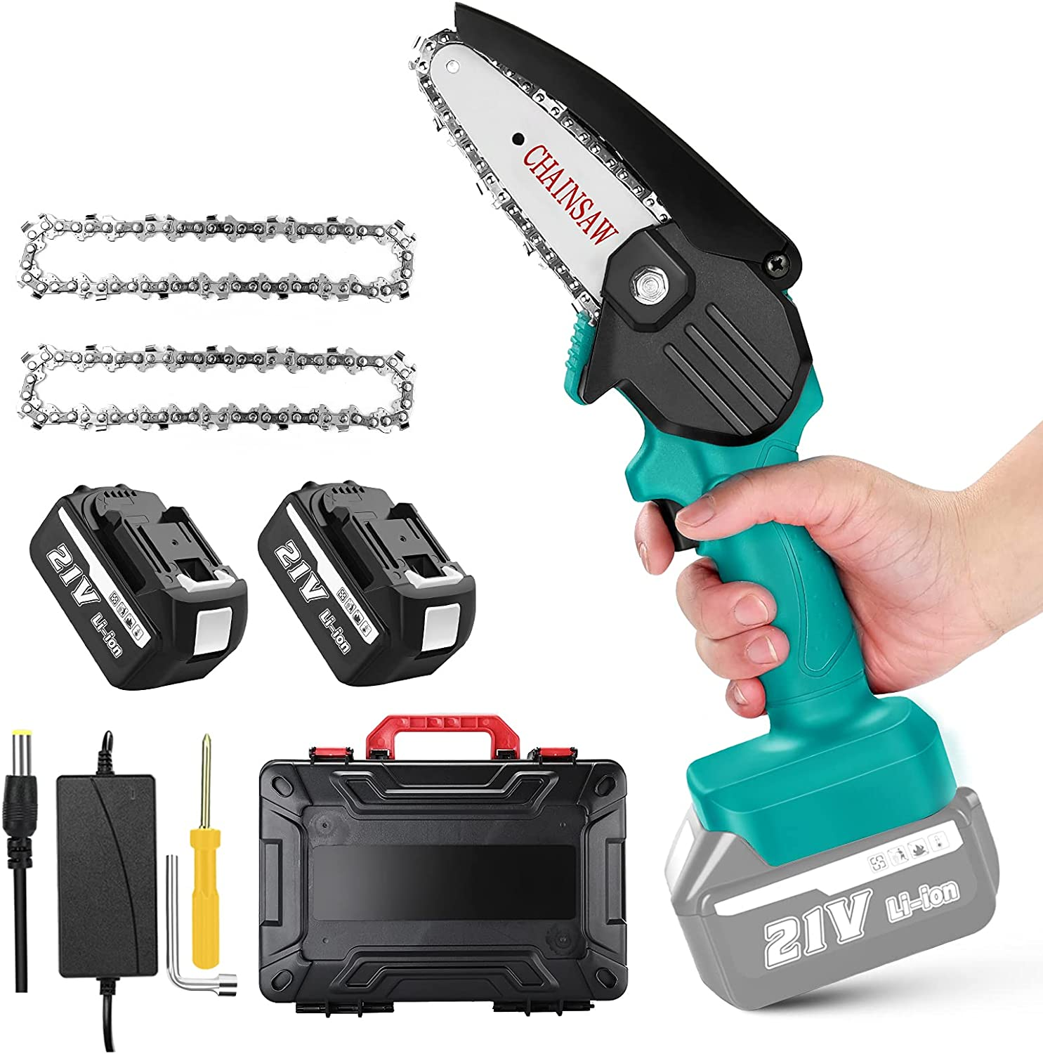 Mini Popular products Cordless Chainsaw Branded goods Electric Saw Pruning Seesii Por