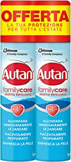 Autan Family Care Spray Bipacco, insecto repelente y