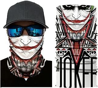 Excursion Sports 3D Pattern Face Mask Guards Balaclava Headwear for Camping, Running, Cycling, Biking, Fishing, Hunting, Sun UV Protection Breathable Bandana Multifunctional Headwear