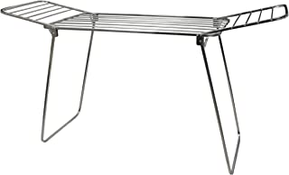 SYNERGY - Super Heavy Duty - Large Stainless Steel Foldable Wing Style Cloth Dryer/Clothes Drying Stand (SY-CS10)