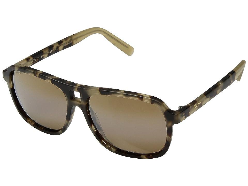 Maui Jim Little Maks (Matte Tokyo Tortoise) Athletic Performance Sport Sunglasses