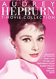 New 7-Movie Blu-ray Collection of Audrey Hepburn Classics arrives Oct. 5 from Paramount