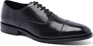 Anthony Veer Men's Dress Shoe Clinton Cap-Toe Oxford Full Grain Leather Goodyear Welted