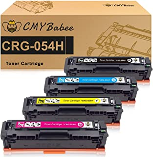 CMYBabee Compatible Toner Cartridge for Canon 054 054H CRG-054 High Yield for Canon imageCLASS LBP622Cdw MF644Cdw MF642Cdw MF640C - 4Pack
