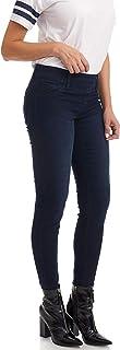 Suko Jeans Women's Skinny Pants Pull On Jean Stretch Denim