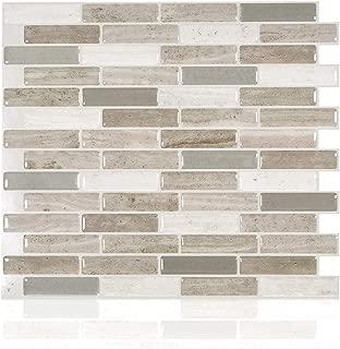 Smart Tiles Peel and Stick Backsplash and Wall Tile Milenza Vasto (Pack of 4)