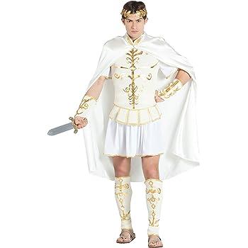Banyant Disfraz DE CÉSAR Emperador Romano para Hombre Talla XL ...