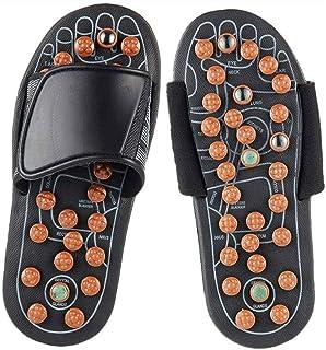 Massage Slippers,Acupressure Reflexology Massage Slippers,Foot Massage Slippers,Reflexology Acupressure Foot Massager Relief Plantar Fasciitis Heel Arch Arthritis Neuropathy Pain