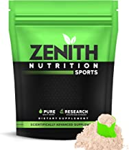 Zenith Nutrition Raw Whey Protein 80%   USA Made   with Digestive Enzymes (Unflavoured) - 1kg