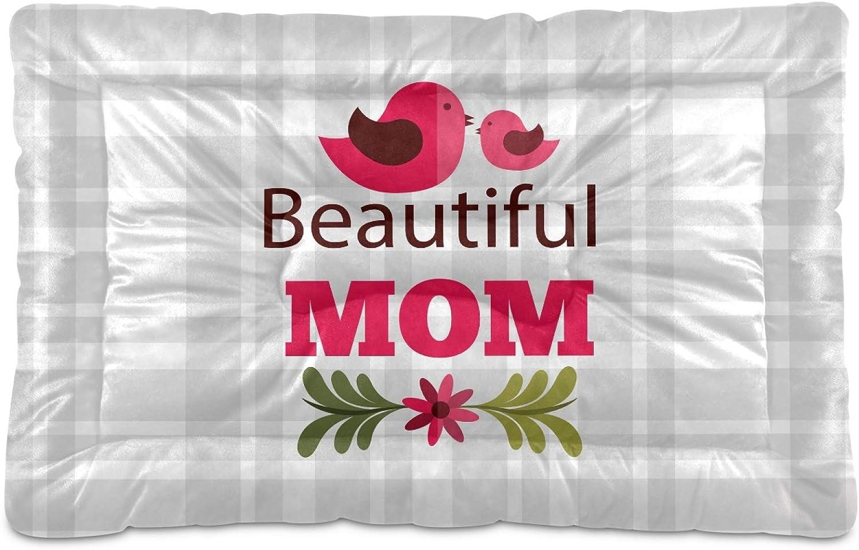 Mr.Brilliant Dog Bed Mat Happy Mothers' Day 55% OFF Pet Bird Crat Tulsa Mall Kennel