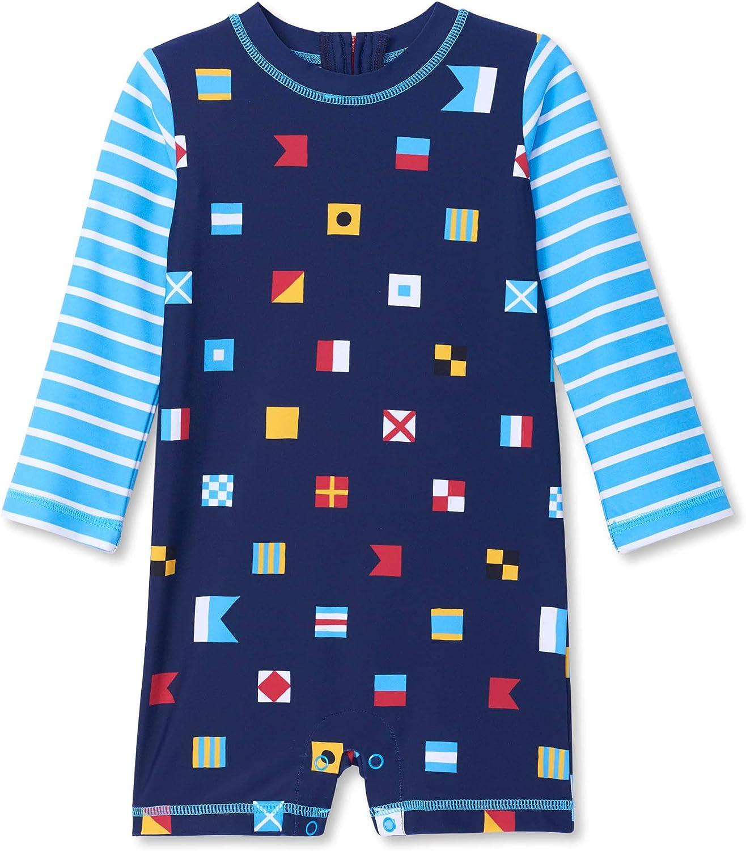 Hatley One Piece Rash Guard Swimsuits Traje de ba/ño de una Pieza para Beb/és