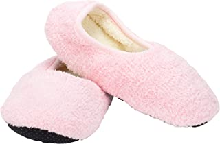 2 Pack - Super Soft Cozy Slippers with Slip-Resistant Bottom Sole