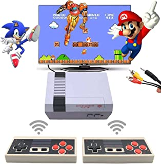 Retro Game Console, Classic Mini NES Game System Plug and Play TV Games with Wireless Controller, NES Classic Game Console...