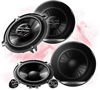 Pioneer Front/Heck 13cm/130mm Auto Lautsprecher/Boxen/Speaker Komplett Set kompatibel für BMW