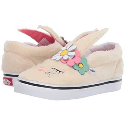 Vans Kids Slip-On Bunny (Toddler) ((Flower Crown) Vanilla Custard) Girls Shoes