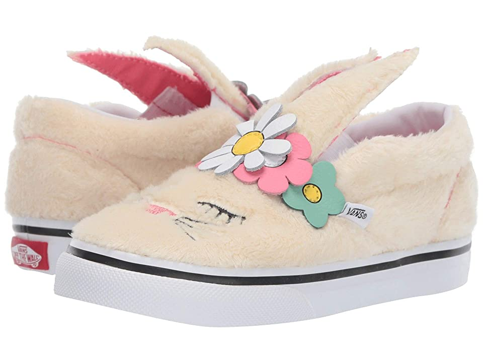 Vans Kids Slip-On Bunny (Toddler) ((Flower Crown) Vanilla Custard) Girls Shoes