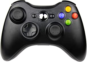 JAMSWALL Wireless Controller for Xbox 360,Bluetooth Game Controller Gamepad Joystick for Xbox & Slim 360 PC Windows 7,8,10 (Black)