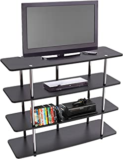Convenience Concepts Designs2Go Highboy TV Stand, X-Large, Black