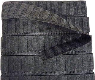 abbigliamento biancheria da letto Whaline per lavori fai da te polsini colore: bianco elastica da 0,6 cm 6 mm fascia elastica intrecciata piatta scollature