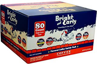 Flavored Coffee Variety, Single Serve (80 ct.) by Bright and Early