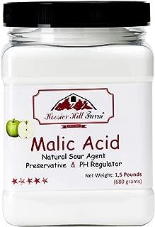Best malic acid sour powder Reviews