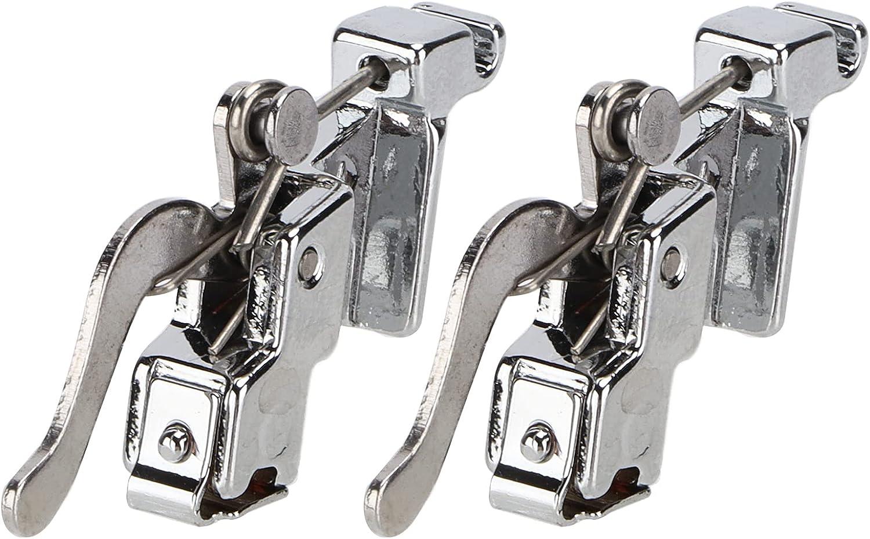 2 Uds. Manija de Pie de Costura Duradera Para El Hogar Máquina de Coser Antigua Reemplazo de Piezas Kit de Manija de Pie Prensatelas Accesorios de Herramientas de Sastrería de Acero